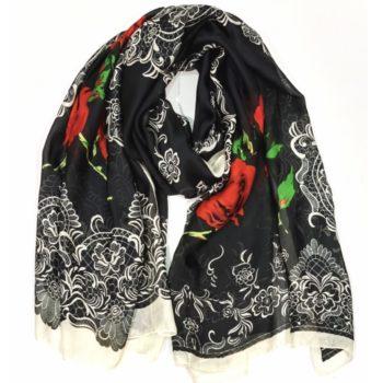 Silke tørklæde
